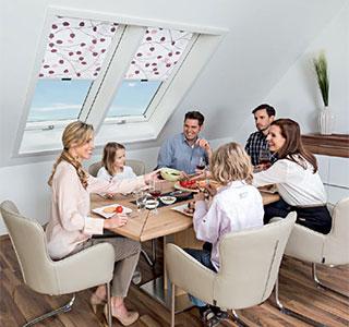 unser innenzubeh r von roto. Black Bedroom Furniture Sets. Home Design Ideas