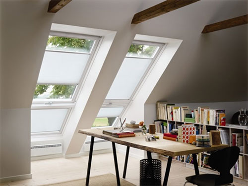 unsere dachfenster von velux. Black Bedroom Furniture Sets. Home Design Ideas